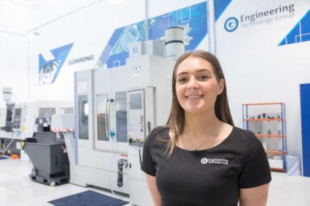 Chloe Reeve, Technical Coordinator at ETG